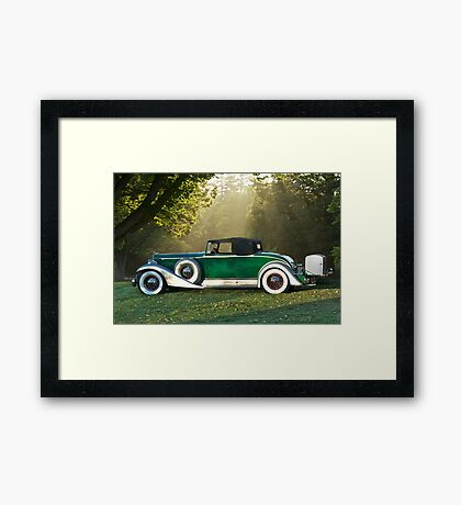 1933 Packard 1006 Convertible 1 Framed Print