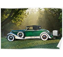 1933 Packard 1006 Convertible 1 Poster