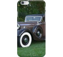 1933 Lincoln Sedan iPhone Case/Skin