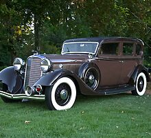1933 Lincoln Sedan by DaveKoontz