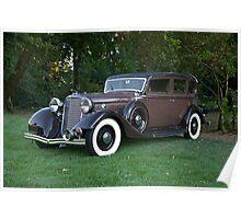 1933 Lincoln Sedan Poster