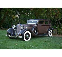 1933 Lincoln Sedan Photographic Print