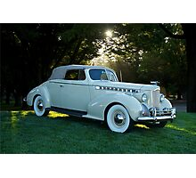 1930's Packard Convertible Coupe Photographic Print