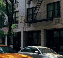 Summer cab Sticker