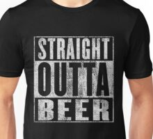 Straight outta Beer Unisex T-Shirt