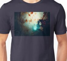 Spooky Forest and Dark Witch Unisex T-Shirt