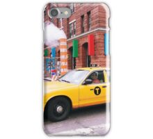 Taxi Smoke iPhone Case/Skin