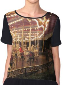 King Arthur Carrousel - Disneyland Chiffon Top