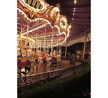 King Arthur Carrousel - Disneyland Photographic Print