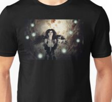 Spooky Forest and Dark Witch 3 Unisex T-Shirt