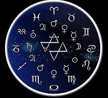 Zodiac Night Sky by wwwdotinternets