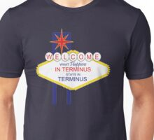 What Happens in Terminus...2 - The Walking Dead Unisex T-Shirt