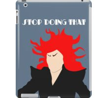 Aunt Irma - Stop Doing That iPad Case/Skin