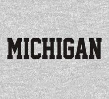 Michigan Jersey Black by USAswagg