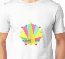 Crisscross Heptagon Unisex T-Shirt