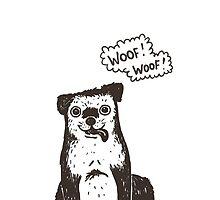 woof! woof! by Anna Alekseeva