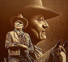 """John Wayne"" [The Duke] Ed Gedrose by Ed Gedrose"