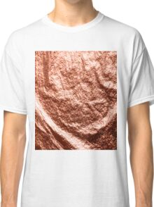 Draped rose gold Classic T-Shirt