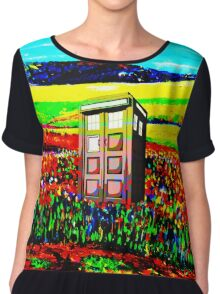 Tardis Enchanting Chiffon Top