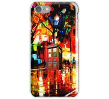 tardis starry night enchanting iPhone Case/Skin