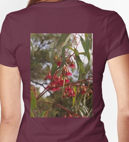 Red Eucalyptus Womens Fitted T-Shirt