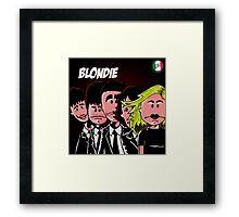 Blondie Cover Parody Framed Print