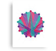 Crisscross Nanogon Canvas Print