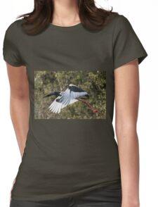 Big Bird Flight Womens Fitted T-Shirt