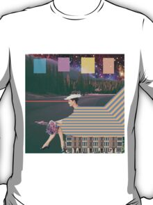 woman by road T-Shirt