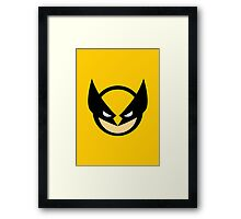 Wolverine 4EVER Framed Print