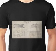 158 Custom House now building in the City of New York January 1837 Unisex T-Shirt