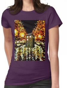 tardis - cool Womens Fitted T-Shirt