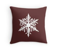 Snowflake(s) Throw Pillow