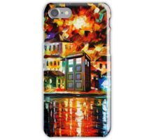 TARDIS CITY iPhone Case/Skin