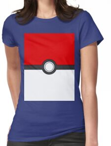 Use your pokeball Womens Fitted T-Shirt
