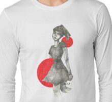 Red Bubble Girl Long Sleeve T-Shirt