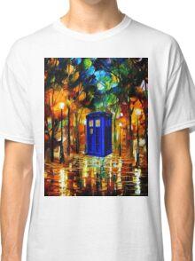 TARDIS DR WHO Classic T-Shirt