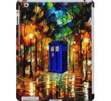 TARDIS DR WHO iPad Case/Skin
