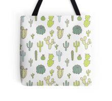 Cacti print Tote Bag