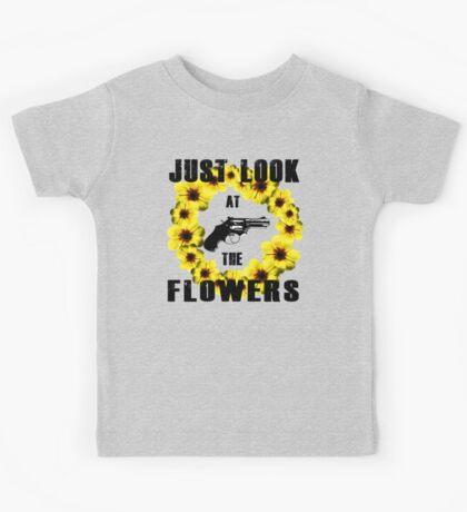 Look At The Flowers Kids Tee