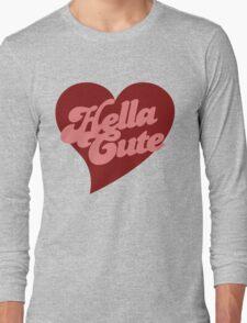 Retro hella cute Long Sleeve T-Shirt