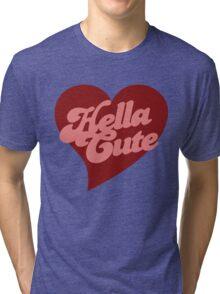 Retro hella cute Tri-blend T-Shirt