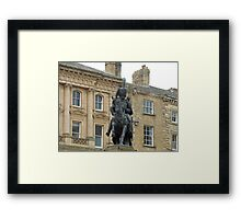 The Miners' Bane Framed Print