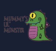 Mummy's Lil Monster One Piece - Long Sleeve
