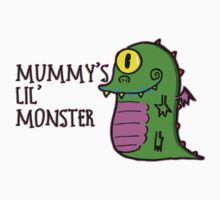 Mummy's Lil Monster Kids Tee