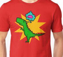 Dino Wants Brains Unisex T-Shirt