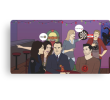 Agents of S.H.I.E.L.D downtime Canvas Print