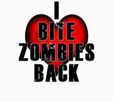I Bite Zombies Back Unisex T-Shirt