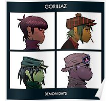 Demon Days artwork Poster