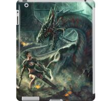 Face a Dragon by Charro iPad Case/Skin